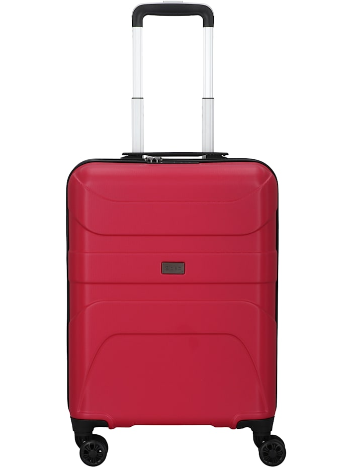 D&N Travel Line 2100 4-Rollen Kabinentrolley 55 cm, pink