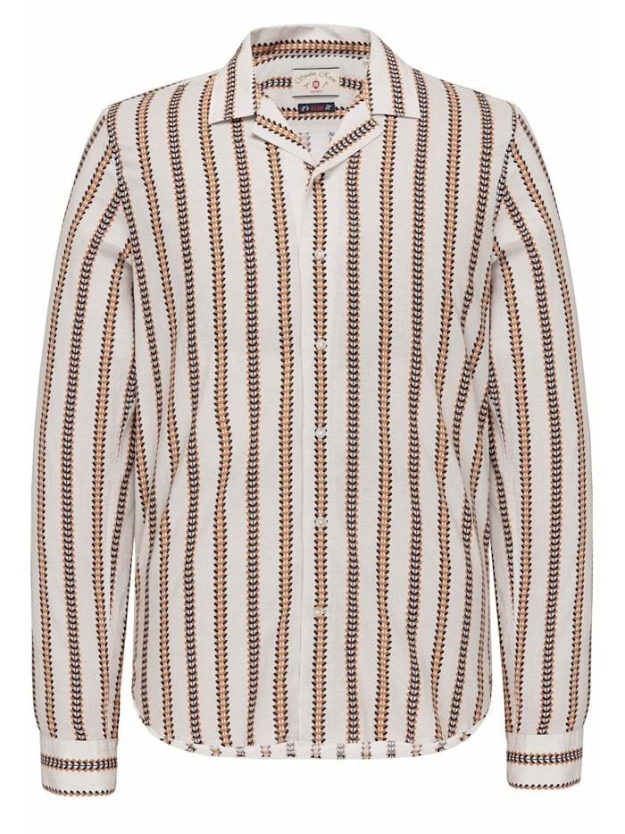 Club of Gents Baumwoll-Shirt CG Harrison, Hellrot