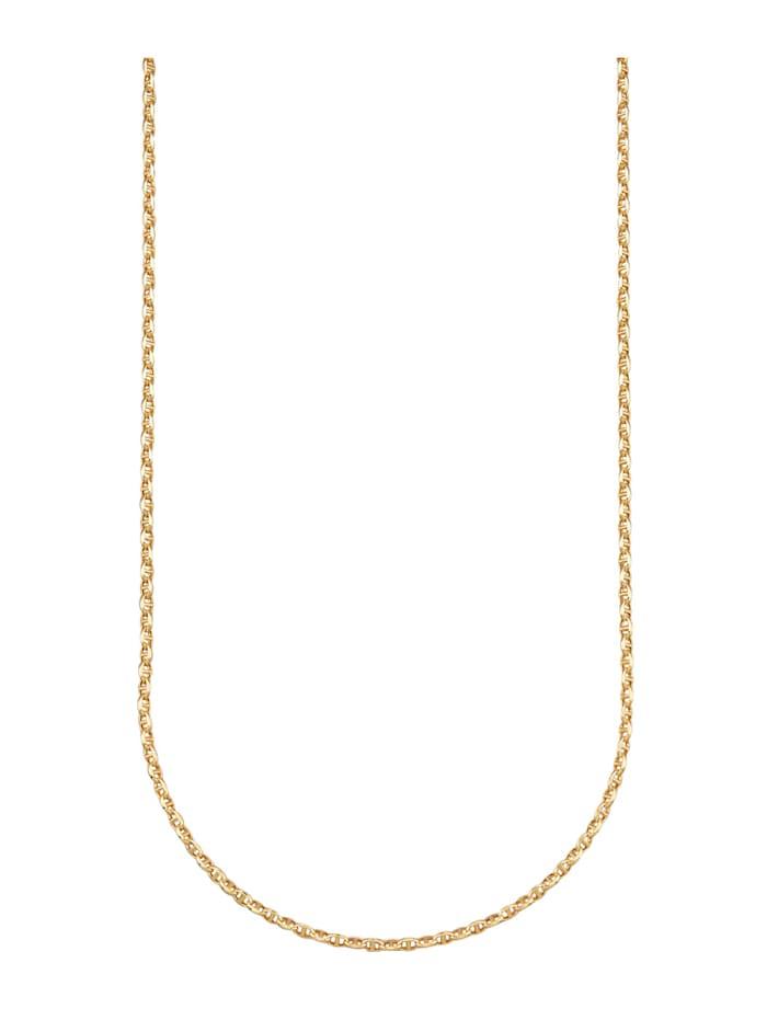 Halsband i ankarlänk, Guldfärgad