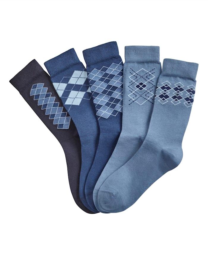 Blue Moon Pánske ponožky, Modrá