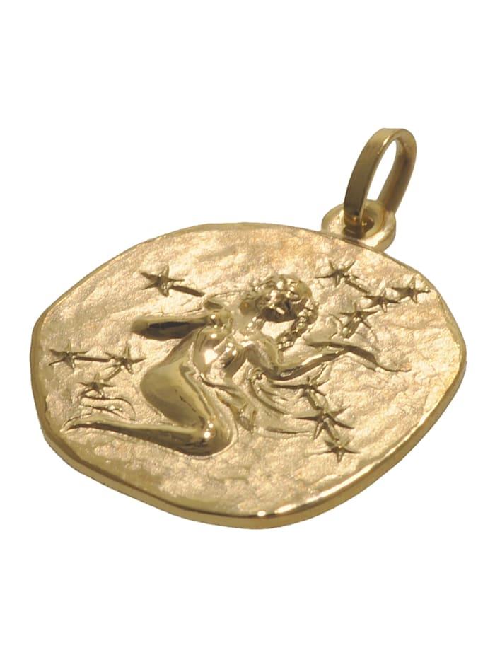 Sternzeichen für Kinder Jungfrau Gold 333 Anhänger + Kette