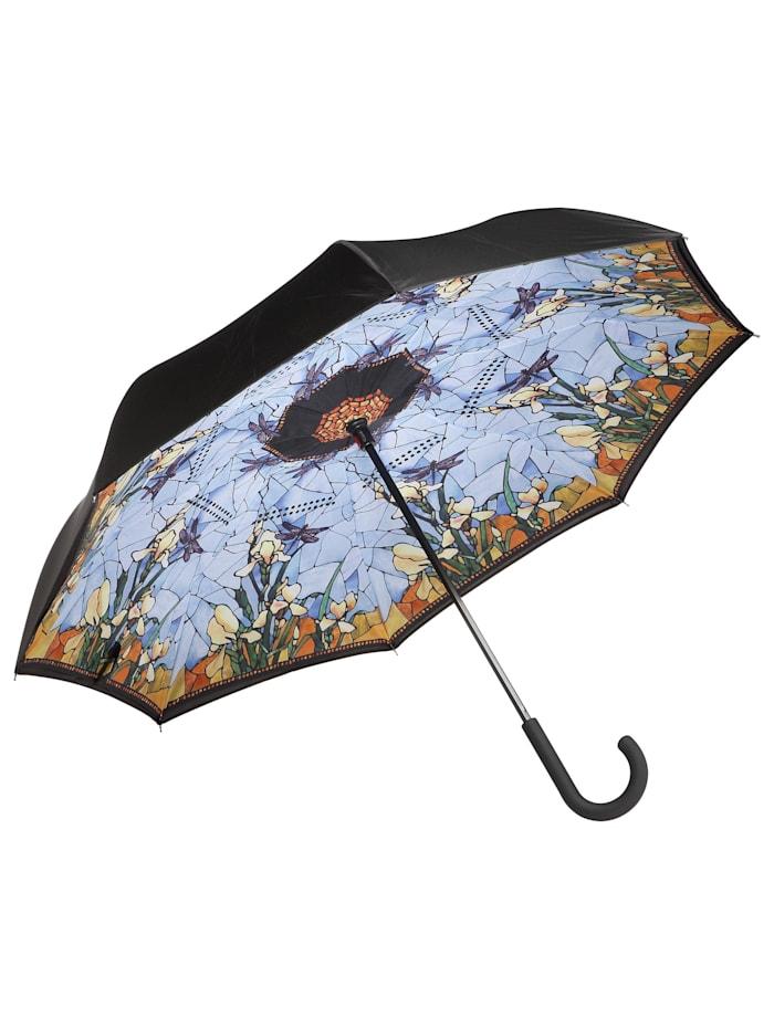 """Goebel Upside-Down Schirm Louis Comfort Tiffany - """"Iris"""""""