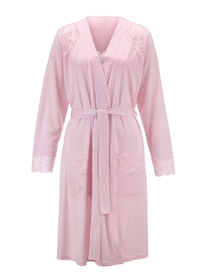 Dressing Gown with an elasticated hem Set