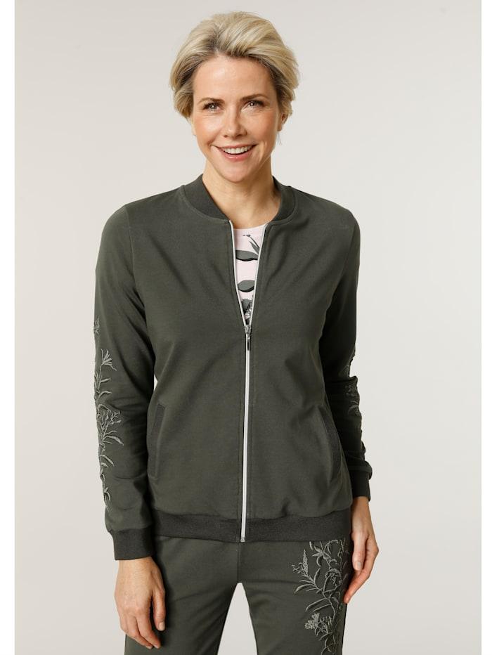 MONA Jacket in a blouson cut, Olive