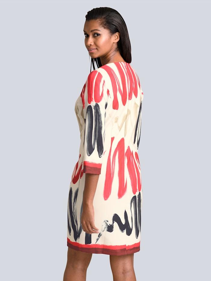 Kleid in grafischem Print