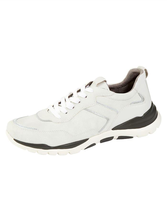 Liva Loop Sneaker met smalle hiel, Wolwit