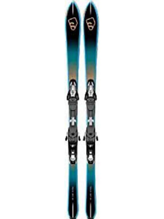 Salomon Salomon Skier H BBR 7.5 + KZ10 B80 Bk, Blau