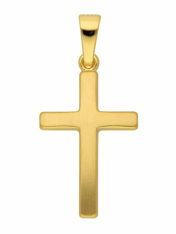1001 Diamonds 1001 Diamonds Damen & Herren Goldschmuck 333 Gold Kreuz Anhänger, gold