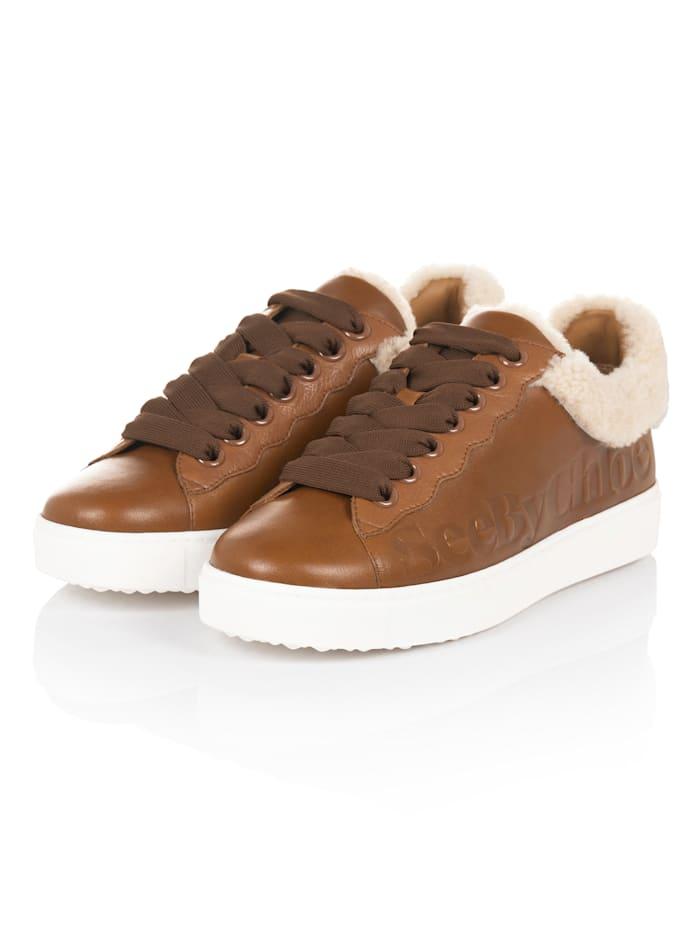 SEE BY CHLOÉ Sneaker, Cognac