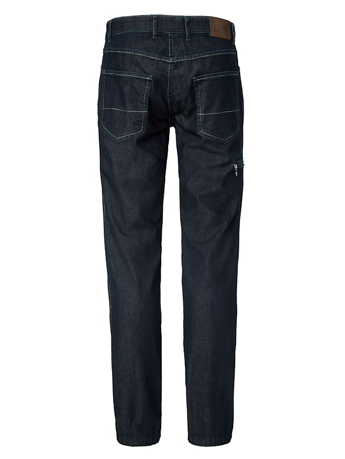 Jeans met reflectorband