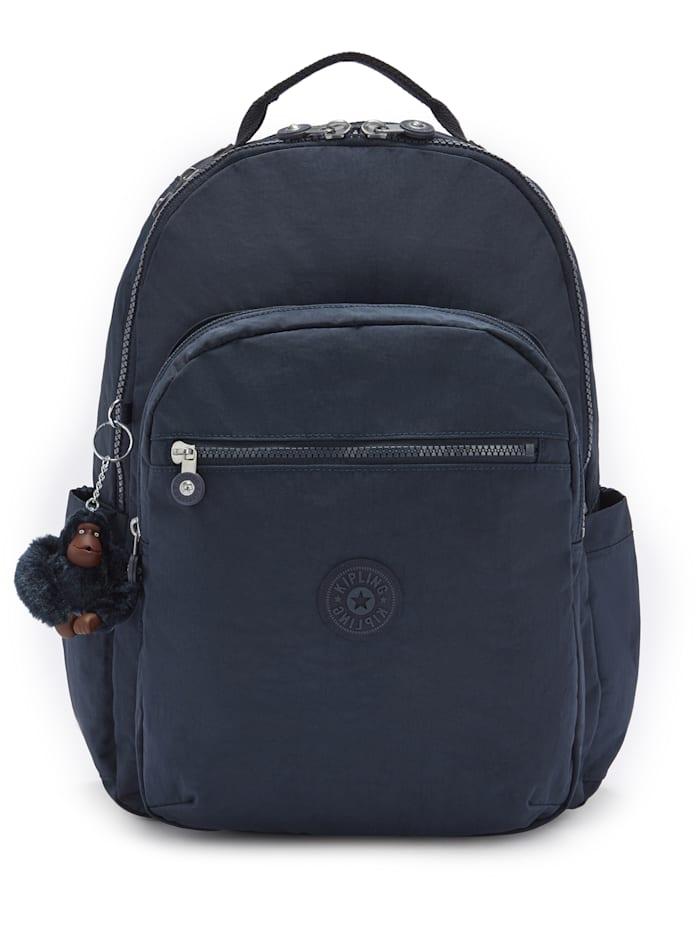 Kipling Back To School Seoul Rucksack 44 cm Laptopfach, true blue tonal