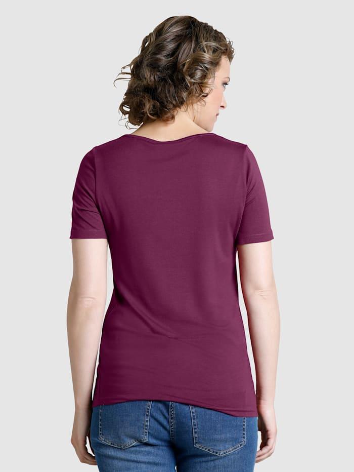 Shirt met paisleydessin