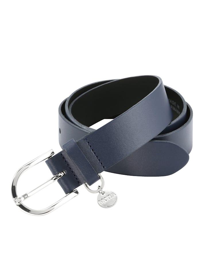 MONA Kožený pásek s MONA-přívěskem, Námořnická
