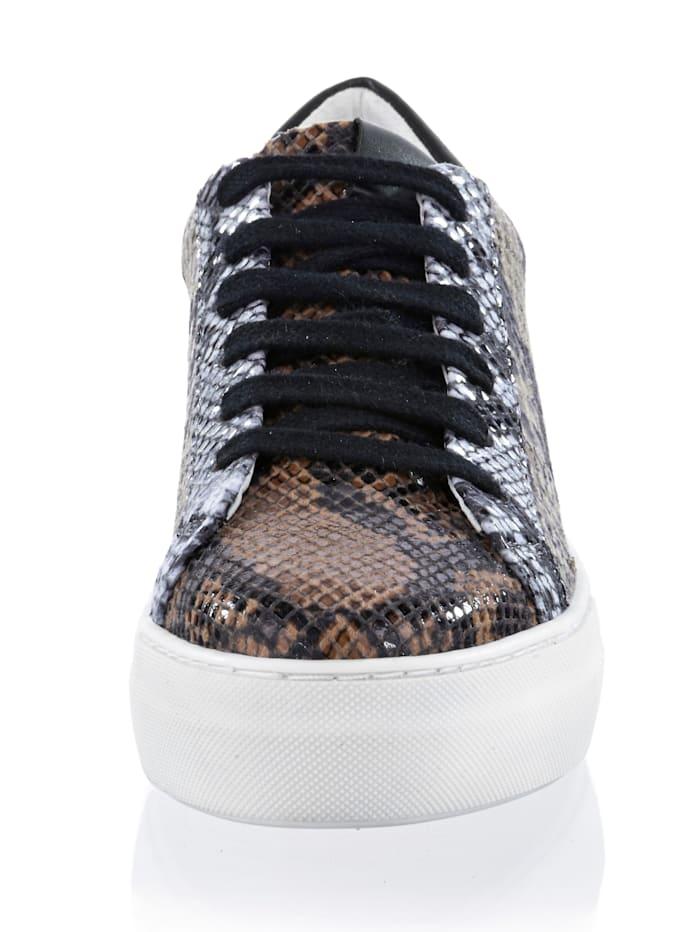 Sneaker in allover Print