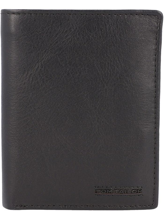 Tom Tailor Barry Geldbörse RFID Leder 10 cm, black