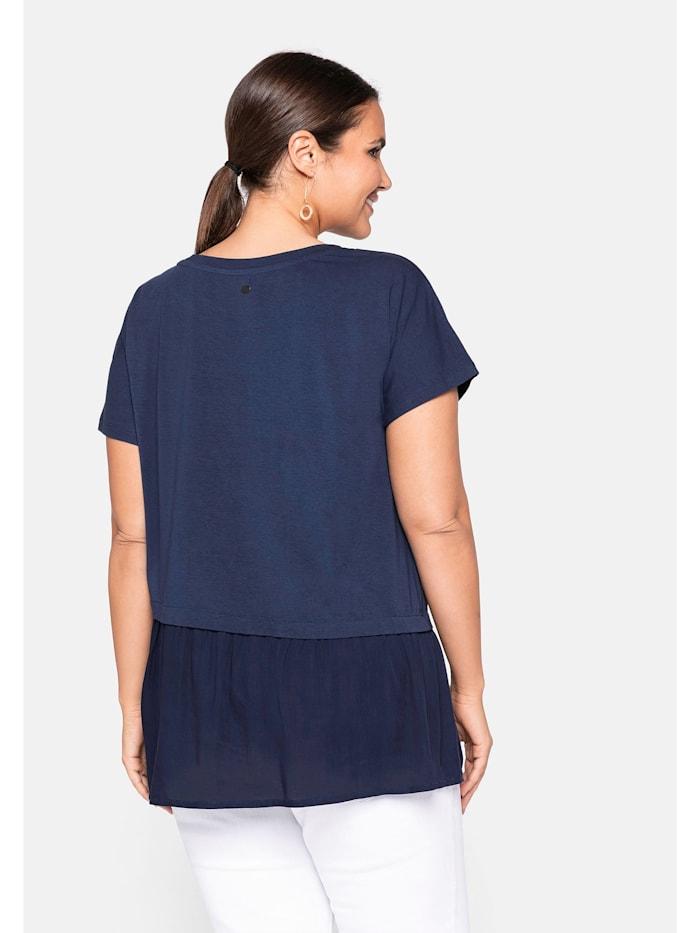 Sheego Shirt mit Schößchen