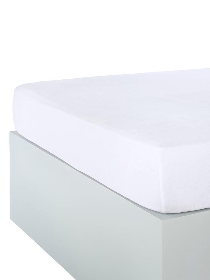 Webschatz Nicki Spannbettlaken, Weiß