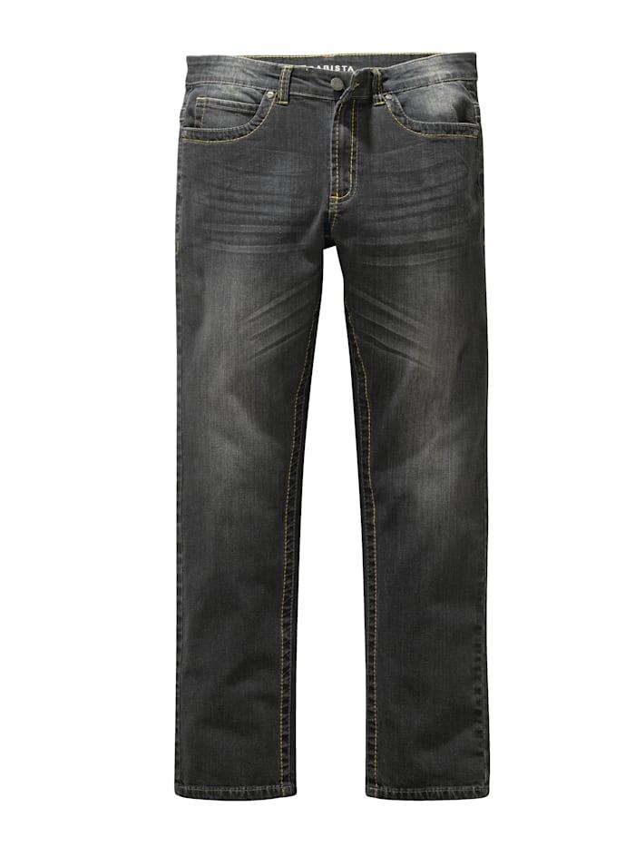 BABISTA Jeans mit Kontrastnähten, Schwarz