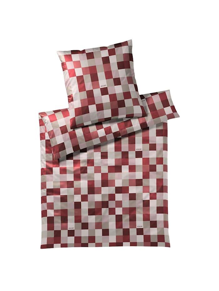 JOOP! Bettwäsche Mosaic ruby, ruby