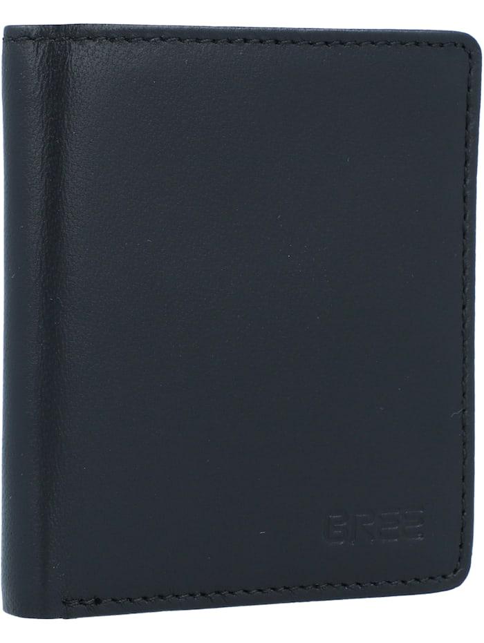 Bree Pocket 103 Kreditkartenetui RFID Leder 8 cm, blacksoft
