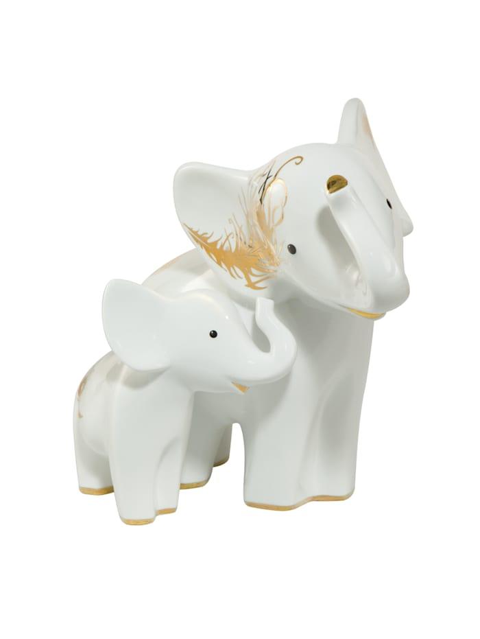 """Goebel Goebel Figur Elephant - """"Araba & Ambo"""", weiß"""