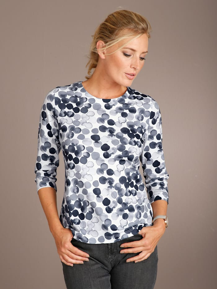Shirt aus Feinjersey