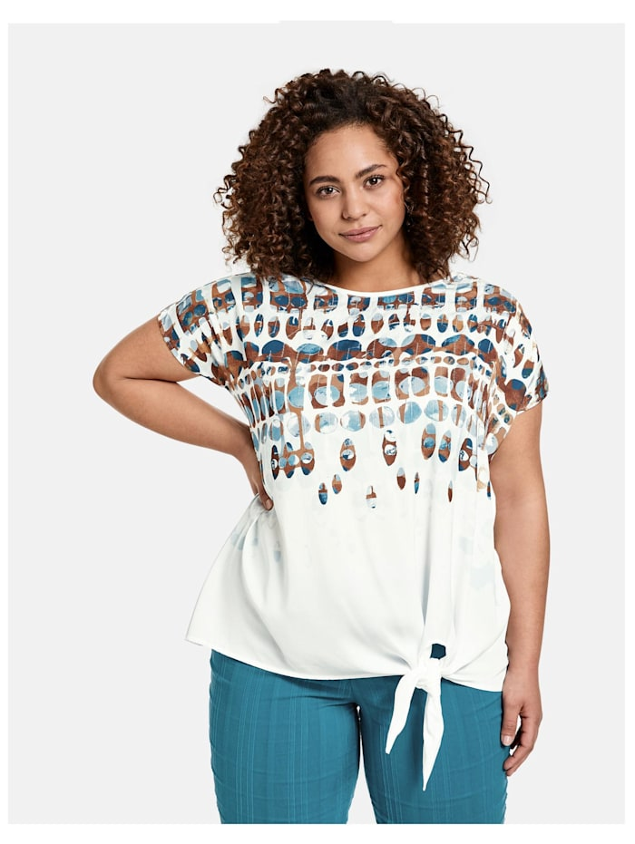 Shirt mit Knoten-Detail