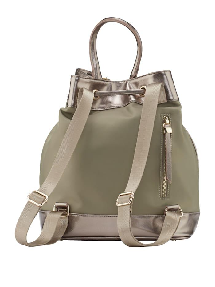 Rucksackbeutel als Tasche oder Rucksack tragbar 2-teilig
