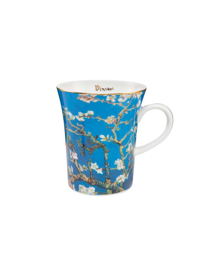 Goebel Goebel Künstlertasse Vincent van Gogh - Mandelbaum, Van Gogh - Mandelbaum blau