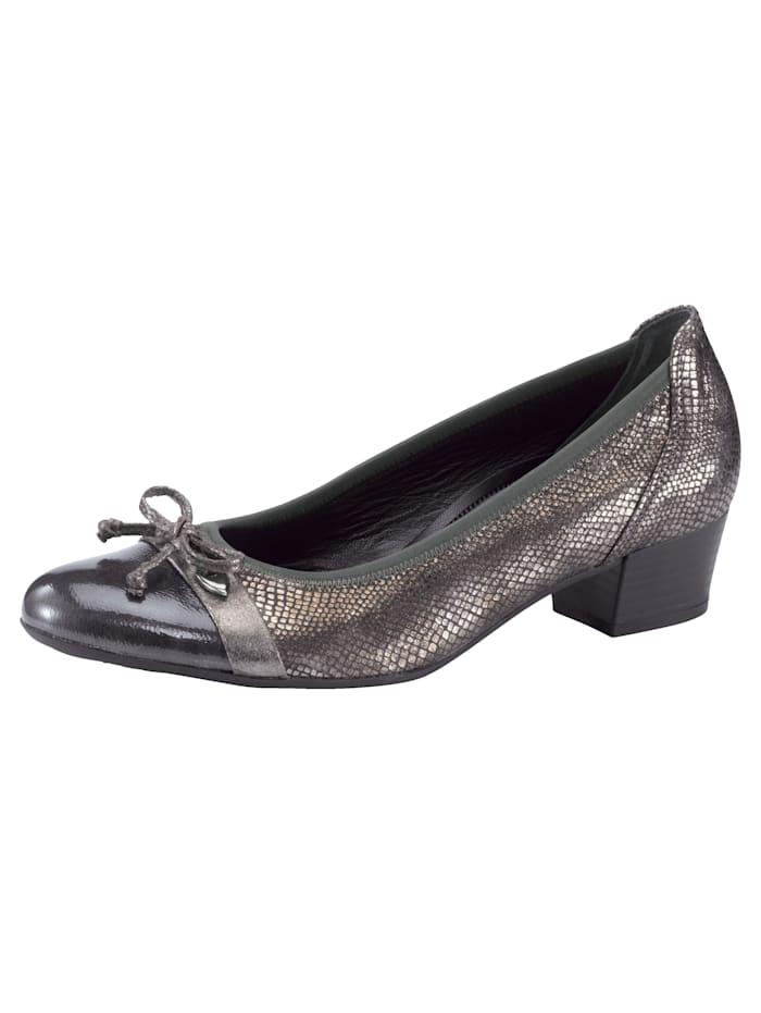 Gabor Ballet Court shoes, Grey