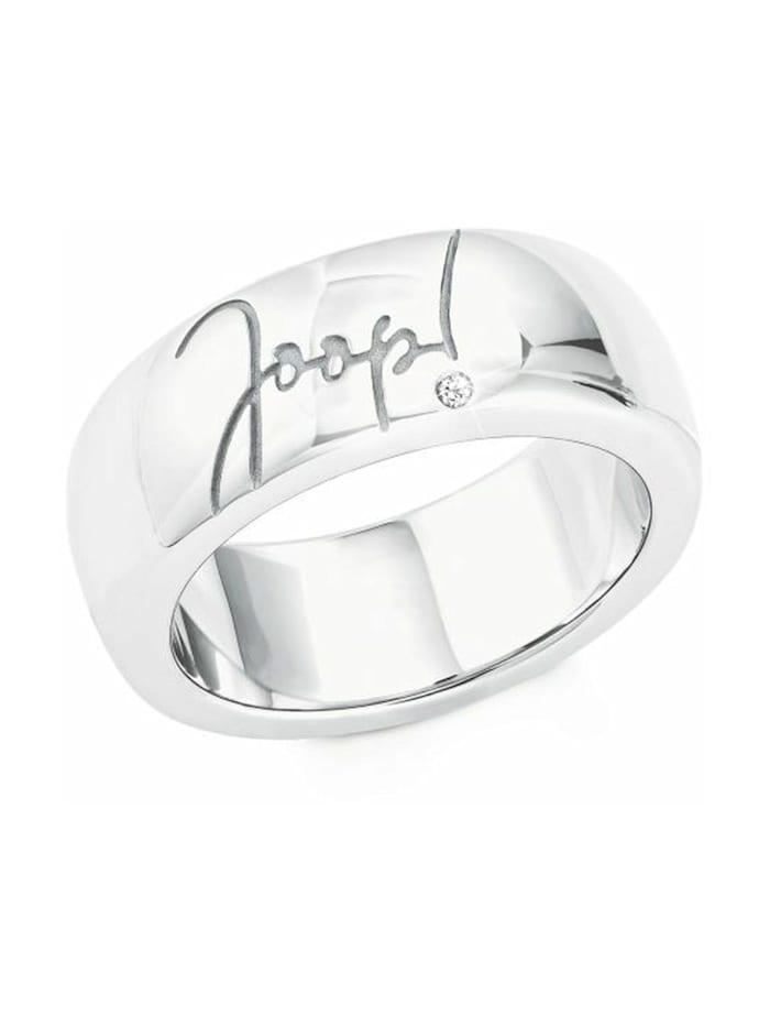 JOOP! Ring für Damen, Silber 925 mit Zirkonia, Silber