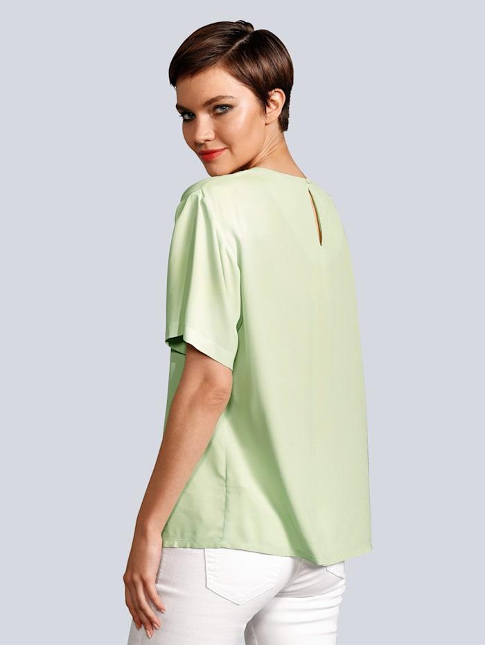Blusenshirt aus schön fließender Viskoseware