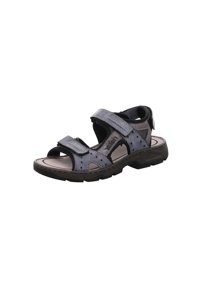 Rieker Sandale Sandale, blau