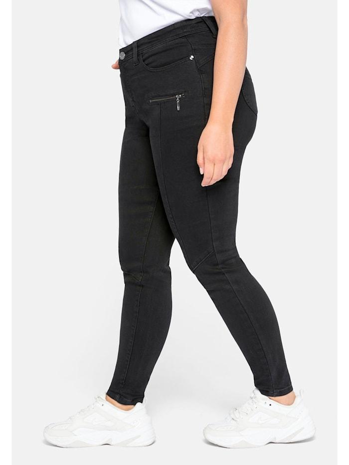 Jeans Skinny  mit Teilungsnähte