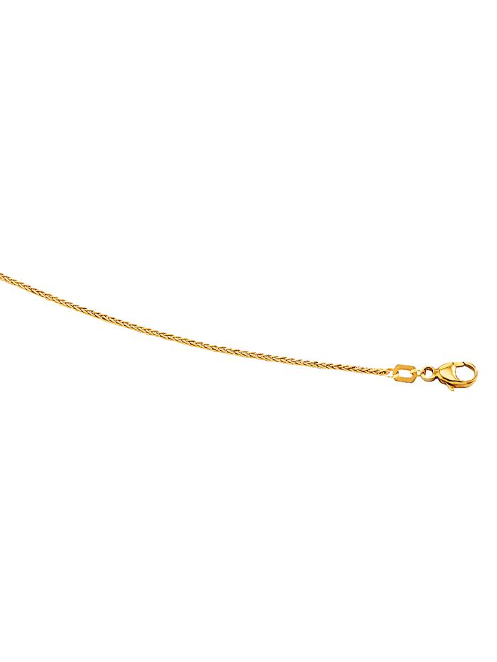 Amara Gold Zopfkette in Gelbgold 585, Gelb