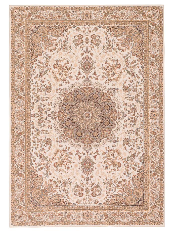 Pergamon Luxus Orient Teppich Primus  Keshan, Beige
