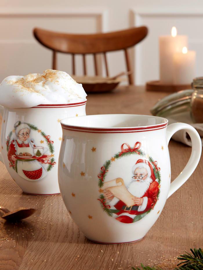 """Mug Villeroy & Boch """"Mr & Mrs Santa Claus"""""""