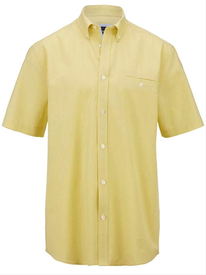 BABISTA Hemd in luftiger Sommerqualität, Gelb