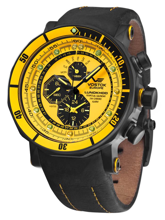 Herrenuhr Alarm-Chronograph Lunokhod 2
