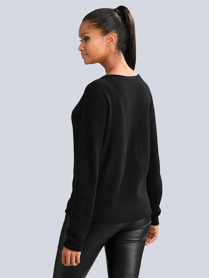Pullover aus hochwertigem, 4-fädigem Kaschmir