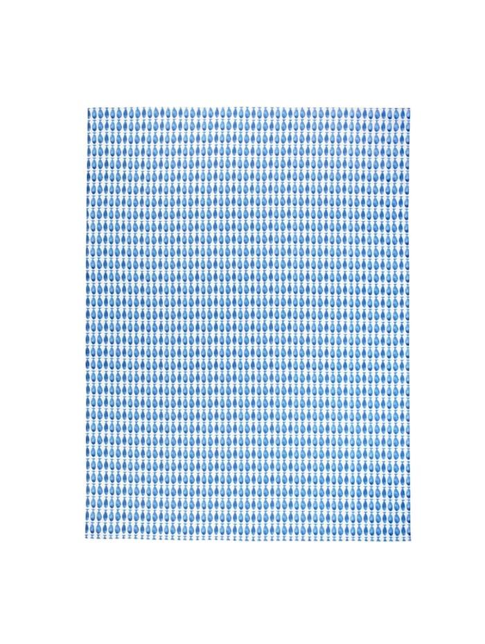 IMPRESSIONEN living Tischdecke, weiß/blau