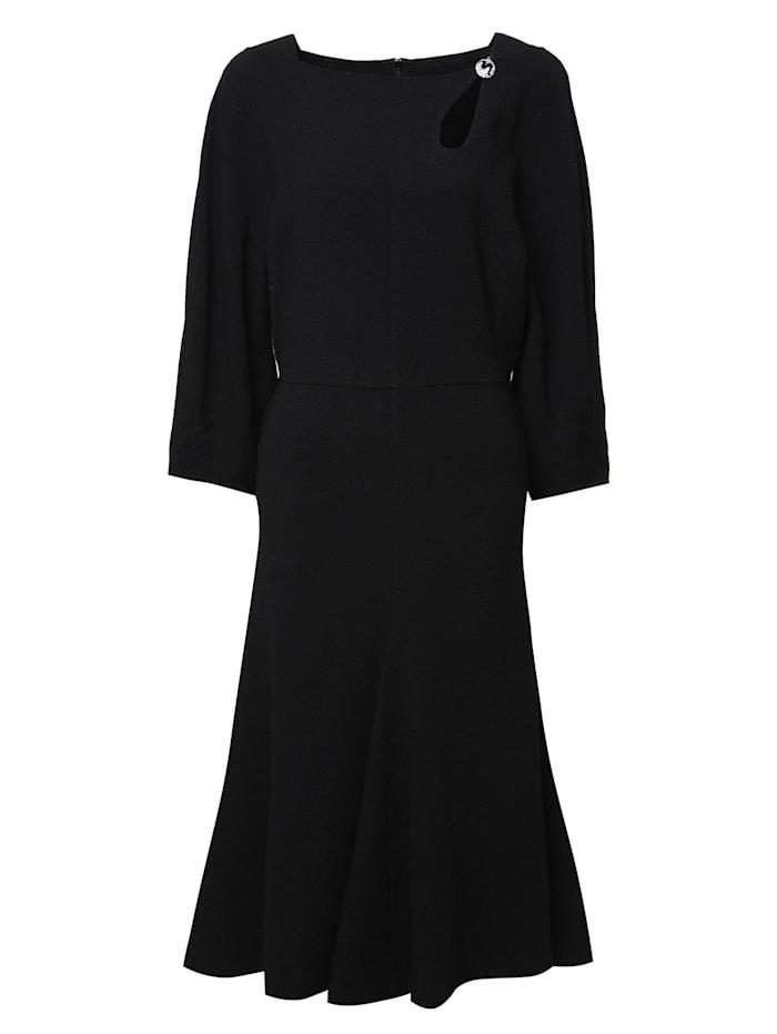 Madam-T Cocktailkleid Kleid Umberto, schwarz