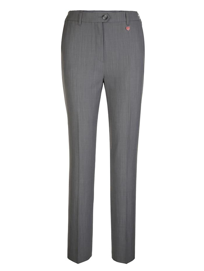 Pantalon en laine vierge haut de gamme