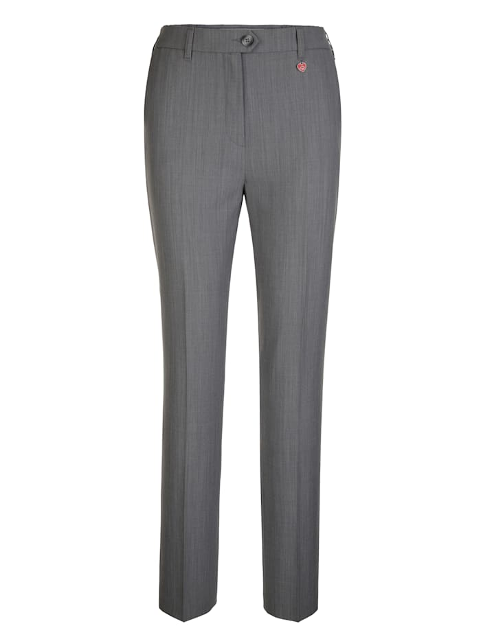 Trousers made from premium-quality wool
