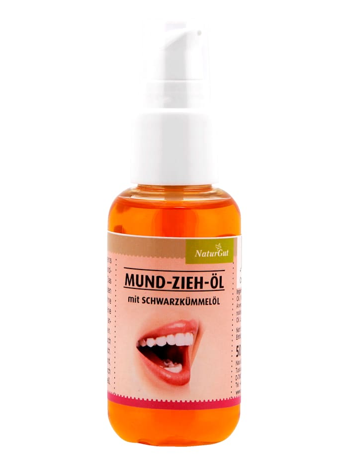 NaturGut Munn-olje med legesvartkarve, hvit