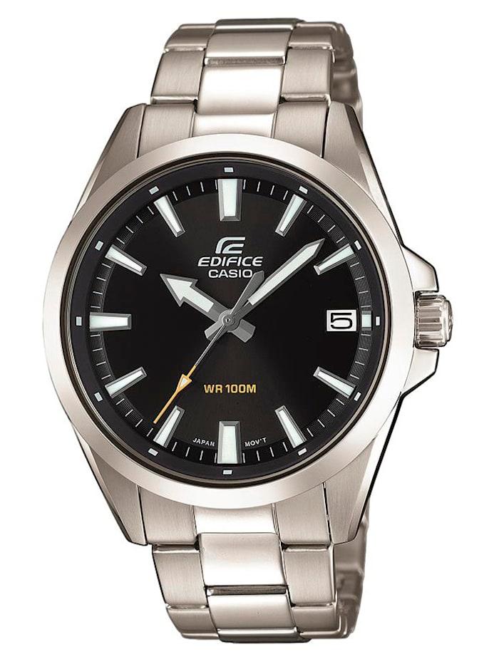 Casio Herrenuhr EDIFICE Classic EFV-100D-1AVUEF, Silberfarben