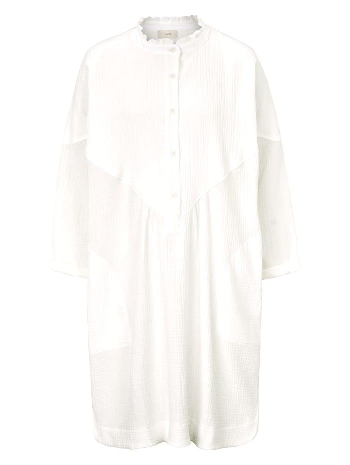 PLUTO Nachtkleid, Weiß
