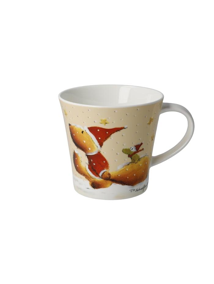 """Goebel Coffee-/Tea Mug Peter Schnellhardt - """"Wintertime Friends"""", Wintertime Friends"""