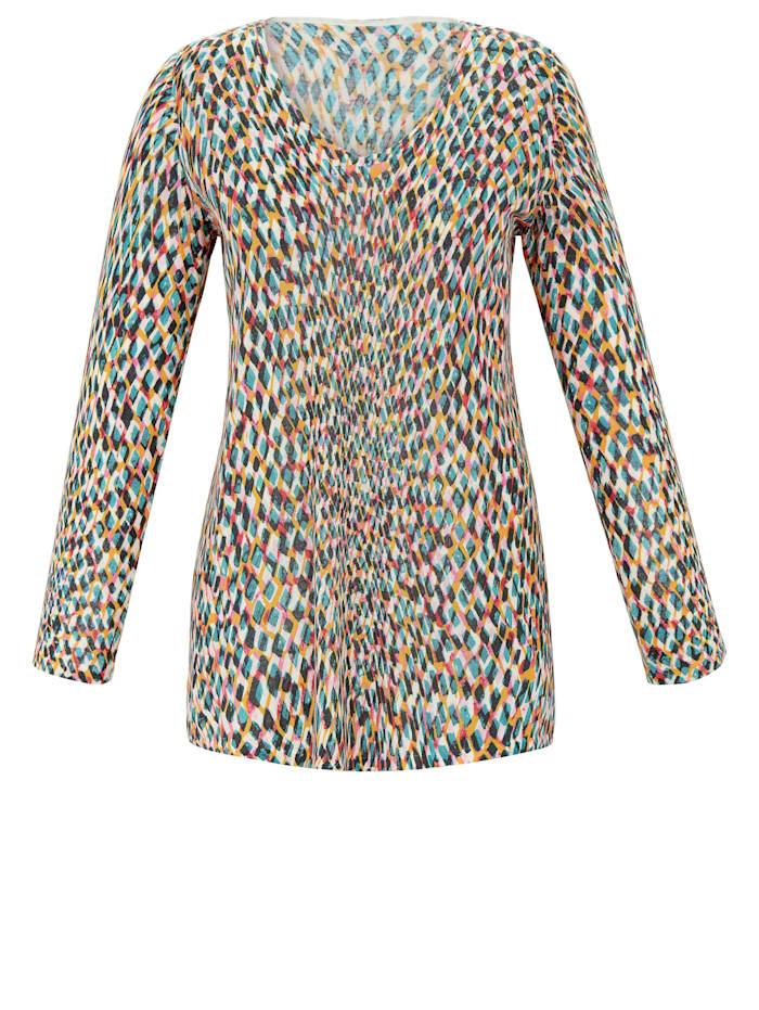Anna Aura Feinstrickpullover in Luxus-Strick, multicolor