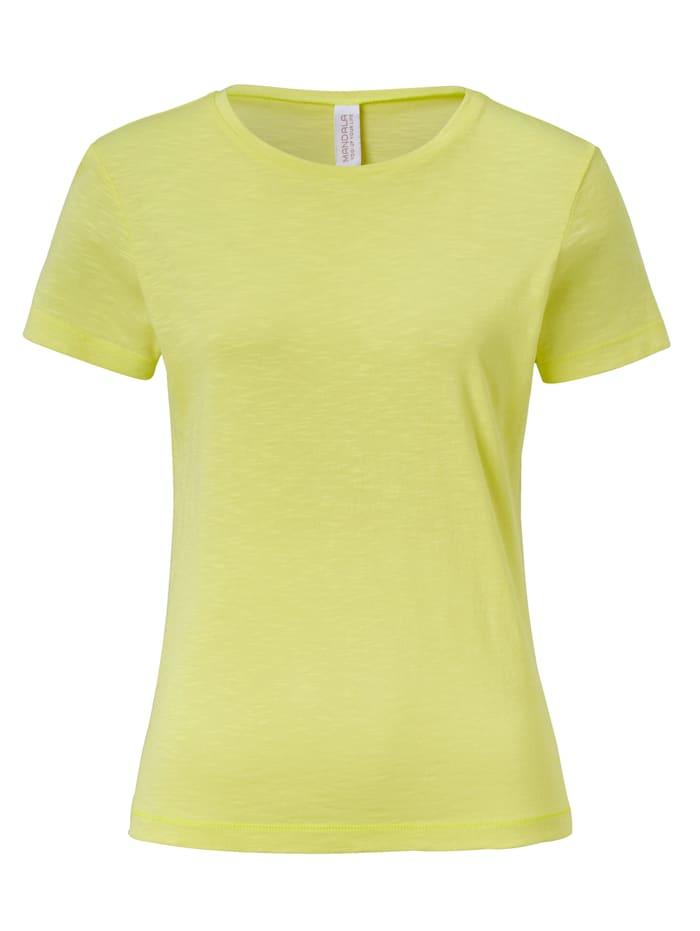 MANDALA Yoga-Shirt, Zitronengelb